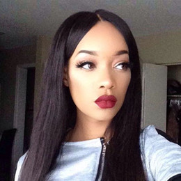 $enCountryForm.capitalKeyWord Australia - Silky Straight Silk Base Lace Front Wig Brazilian Remy Hair Silk Top Full Lace Wig Human Hair With Baby Hair