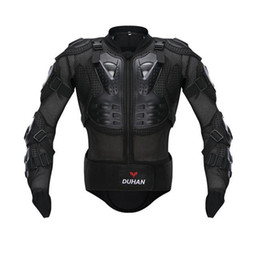 $enCountryForm.capitalKeyWord Australia - Free shipping 1pcs New DUHAN Motorcycle Bike Full Body Armor Jacket Gear Chest Shoulder Protection