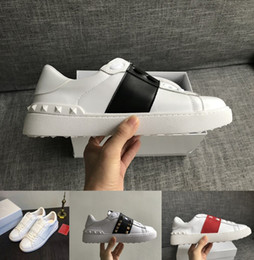35ae97bb33d19 V T LuxuryTrend Platform Designer Uomo Donna Casual Shoes Luxury Lovers  White Leather Sport Sneakers Lovers Pretty Queen Scarpa da tennis
