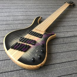 $enCountryForm.capitalKeyWord NZ - Custom shop TOP quality 6 strings Setius fanned frets Bass guitar;multi-scaled bass guitar;Black hardware;free shipping