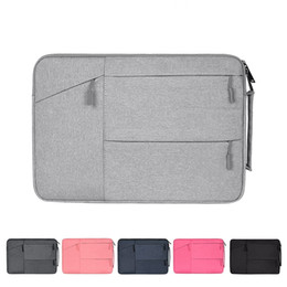 Hp Laptops China Australia - Portable Polyester Laptop Briefcase Notebook Bag For Macbook Air Pro 11 12 13 15 Dell Asus HP Acer Sleeve Pouch Carry Handbag for Man Woman