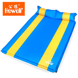 Hewolf Automatic inflatable cushion pad double outdoor c&ing tent widening and thickening many colors 2.5cm 3cm thick inexpensive under tent pads  sc 1 st  DHgate.com & Discount Under Tent Pads | 2018 Under Tent Pads on Sale at DHgate.com
