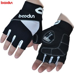 Wholesale Boodun Brand Designer Gloves Half Finger Men Women Cycling Gloves Slip MTB Bike Bicycle Guantes Ciclismo Sport Breathable Shockproof