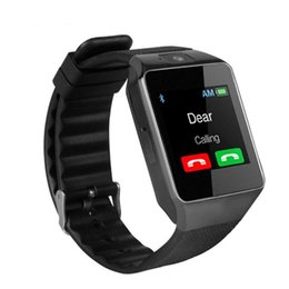 huawei smartwatch bluetooth NZ - Bluetooth Smart Watch DZ09 Relojes Smartwatch Relogios TF SIM Camera for iOS iPhone Samsung Huawei Xiaomi Android Phone