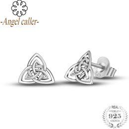 25be1ef52 Angel cAller jewelry online shopping - Angel Caller Sterling Silver Lucky  Celtics Kont Stud Earrings for