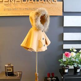 $enCountryForm.capitalKeyWord Australia - Vieeoease Girls Poncho Christmas Kids Clothing 2018 Autumn Winter Fashion Fur Wool Coat for Girls EE-1063