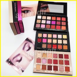 New beauty online shopping - 18 Colors eyeshadow Beauty Desert Dusk eye shadow palette Shimmer Matte New Nude Eyeshadow Rose Gold Remastered Palette Makeup Cosmetics