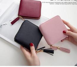 $enCountryForm.capitalKeyWord NZ - 2018 fashion Best Selling! Genuine Leather Women Short Wallet Zipper Purse Short Handbag 3 Colors For Girl Lady Nice Gift Money Bag