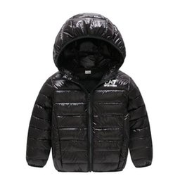 Jacket hat baby online shopping - AMN Baby children s coat best selling new boy s cotton dress girl s pure color hat and light cotton padded jacket