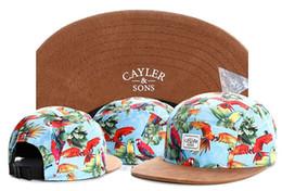 cayler sons flower 2019 - 2018 Wholesale Swag Cayler Sons Snapback Caps Hundreds flower 5 panel hat Hip-Hop Cap Baseball cap Hats For Men women Bo