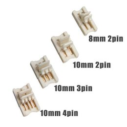 $enCountryForm.capitalKeyWord Australia - 2pin 3pin 4pin Slim LED RGB Connector Conductor for 8mm 10mm 3528 5050 RGB Dual LED Strip to Strip Terminal