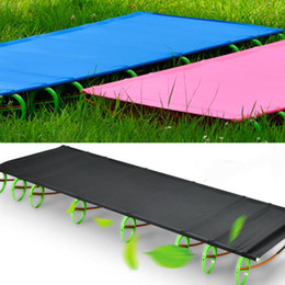 $enCountryForm.capitalKeyWord NZ - High Quality Ultralight Portable Aluminium Alloy Outdoor Camping Cot Folding Tent Bed Lunch Break Bed size: 180*58*10cm