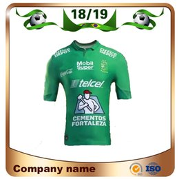 5913128a3 mexico league jersey 2019 - 2019 Liga MX team Leon Soccer Jersey 18 19Leon Home  Soccer
