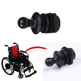 electric controller 24v 2019 - 360 Degrees Joystick Controller for Brush Motor 24v 200w Electric Wheelchair Motor DC Brush 30Nm Gear Motor With Manual
