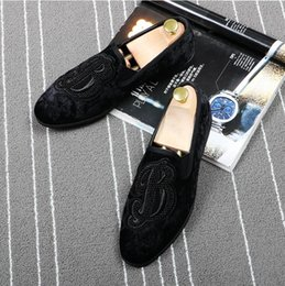 $enCountryForm.capitalKeyWord NZ - New Listing Business Men's Basic suede embroidery Leather Gentle Prom Quinceanera Wedding Dress Shoes Formal Wearing British Big Size 174