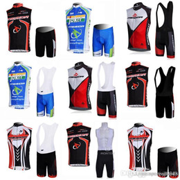 merida cycling jersey sets NZ - MERIDA team Cycling Sleeveless jersey Vest (bib)shorts sets Breathable Summer Bike Racing Clothing Sleeveless Bike Jersey Suit c2218