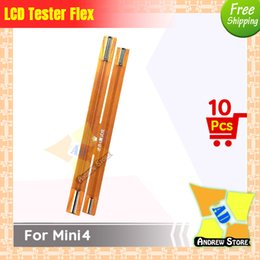 $enCountryForm.capitalKeyWord NZ - 10pcs lot High Quality LCD Screen Display Test Touch Screen Extension Tester Flex Cable for ipad Mini4 free shipping
