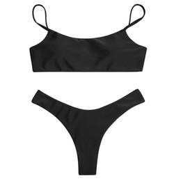 cdcb4b10400 Spandex bandeau SwimSuitS online shopping - IFLYING New Women Sexy Bandeau  Swimsuit SolidIFLYING Swimwear Brazilian Biquini