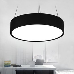 Discount Hanging Modern Metal Lamp 72W Led Pendant Lamps Minimalism Lights Suspension Lighting