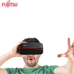 virtual reality 3d video glasses 2019 - Fujitsu Original Virtual Reality 3D glasses VR Box Color Cross Google Virtual Reality 3D Polarized Video Glass 16GB chea