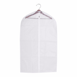 b7f11329b96b Wholesale Clothes Covers UK - 1 x Suit Cover Protector Storage Bag Case for  Clothes Garment