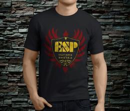 Black Bass Guitar Neck NZ - New ESP Guitars Basses Men's Black TShirt Size S-3XL