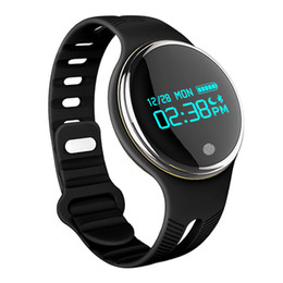 Touch Screen Sport Bracelet NZ - 2017 New Sports Smart Watch Remote control Bluetooth 4.0 GPS Android Iphone Waterproof Sleep Monitor Bracelet Touch screen