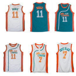 Men s Semi Pro Movie Flint Tropics 33 Jackie Moon Jersey 7 Coffee Black 11 ED  Monix Green White Stitched Basketball Jerseys ccd760868