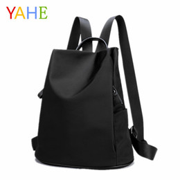 15482576fc6b Backpacks Leisure Bag Girl NZ - wholesale 2018 Fashion Women s Backpacks  Solid Leisure School Bags For
