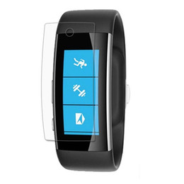 $enCountryForm.capitalKeyWord UK - 3x Clear LCD Screen Protector Guard Cover Film Skin for Microsoft Band 2 Sporting Smart Watch Accessories