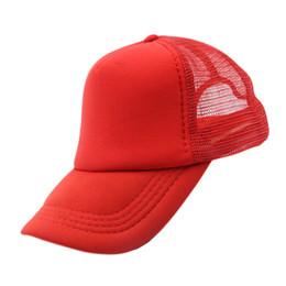 46e70906f19 Summer Plain Trucker Mesh Hat Snapback Blank Baseball Cap Adjustable Size Men  Women