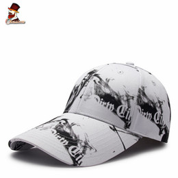 $enCountryForm.capitalKeyWord UK - Chessieca 2018 Discount 3D Printed Letter Extended Brim Baseball Cap Male Bones Topi Pria Keren Dewasa Besbolka Summer Men's Hat