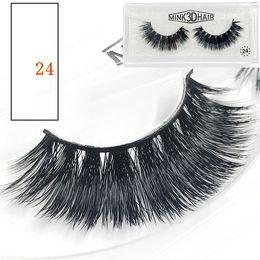 Top False Eyelashes Australia - 3D False Eyelashes 9 Styles Makeup for Eyes 100% Real Natural Long Thick False Fake Eyelashes Eye Lashes Beauty Tools Top Quality