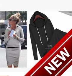 $enCountryForm.capitalKeyWord Canada - 2018 Autumn And Winter New Pattern Irregular Half-body top Skirt set Even Midnight Suit Woman women sports ladies tracksuits jogging Print