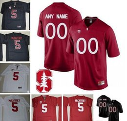 $enCountryForm.capitalKeyWord Canada - Custom Stanford Cardinal NCAA Pac-12 College Football 5 Christian McCaffrey 10 Keller Chryst 12 Andrew Luck Stitched Any Name Number Jersey
