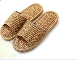 b45de36853b4db New Summer Style Flip-Flops Minimalist Slippers Flat Casual Flax Sandals  Toed Soft Bottom Eco-friendly Straw Sandals Hemp Slippers Handmad