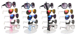 sunglasses rack glasses NZ - Wholesale 2pcs Lot Nice 5 Layers Sunglasses Holder Glasses Display Rack Counter Stand Jewelry Show Packaging & Display Eyeglasses Storage