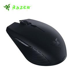 Vente en gros New Original Razer Atheris Ambidextre Bluetooth 2.4G Sans Fil Gaming Mouse 7200 DPI Capteur Optique Jeu Souris Boîte Originale