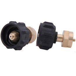 Flat gas online shopping - Gas Tank Conversion Black Handwheel Inflation Joint Outdoors Connect Head Long Flat Gas Tank Conversion And Continuous Heat yh ddWW