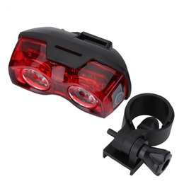 Bicycle Accessories Canada - 3 Models Mountain Road Bike Tail Light Rechargeable Portable Safety Warning Bicycle Rear Light Lamp Cycling Bike Accessory
