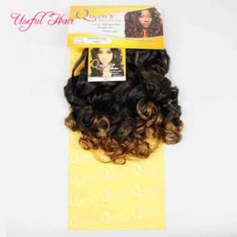 $enCountryForm.capitalKeyWord Australia - 20inch weave hair bundles Brazilian hair bundles synthetic braiding Italian curly cuticle aligned hair synthetic braiding hari for female