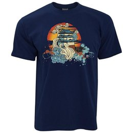 Chinese Traditional Shirts For Men Australia - Cotton T Shirt Printed T Shirt Crew Neck Short-Sleeve Compression Chinese Traditional Painting T Shirts For Men