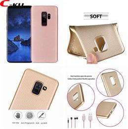 Woven carbon fiber online shopping - Carbon Fiber Vertical Soft TPU Case For Samsung Galaxy S9 Plus A8 Google Pixel XL Huawei P20 Lite Y9 Woven Knit Gel Back Skin Cover