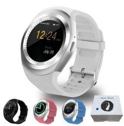 u8 smartwatch pink NZ - Y1 smart watchs for android smartwatch Samsung cell Phone watch bluetooth for apple iphone with U8 DZ09 GT08 with retail package