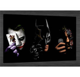 $enCountryForm.capitalKeyWord Australia - Batman The Joker II,1 Pieces Canvas Prints Wall Art Oil Painting Home Decor (Unframed Framed)