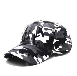 the best attitude 10ca9 281b4 2018 Snow CaBaseball Caps Men Summer Cap Tactical Camouflage Hat For Men  Women High Quality Bone Masculino Dad Hat Caps