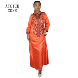 african dresses for women Dashiki Dresses bazin riche traditional african  clothing Long Sleeve For ladies 418f4b9200f1