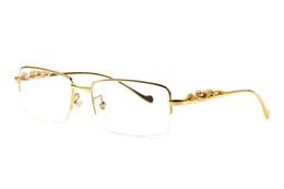 649d233e4e Clear plastiC CirCles online shopping - buffalo horn glasses men Brand  round circle rimless Sunglasses Women