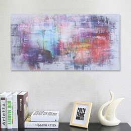 large abstract art canvas prints NZ - Large Canvas Abstract Painting HandPainted  HD Print Modern Wall Decor Art Oil Painting On Canvas.Multi sizes  frame Options Ab256