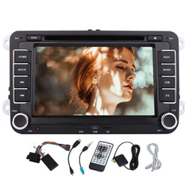 volkswagen jetta mirror UK - Quad Core Wifi Android 6.0 Car DVD Player GPS Double 2 Din 7'' for Volkswagen VW POLO Mirror Link Wifi Bluetooth Auto